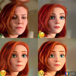 Mary Jane Watson Different Faces 4