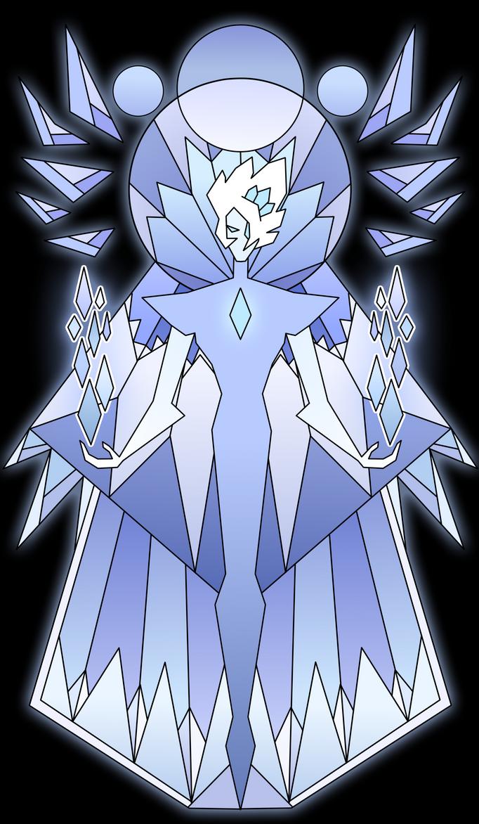 Su oc iceblue diamond mural by tenebris caeli on deviantart for Yellow diamond mural