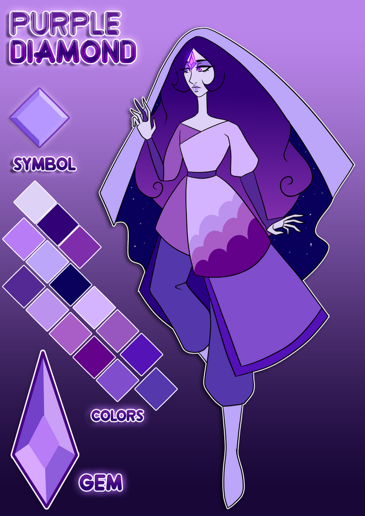 making mural fanartso own comments my stevenuniverse i tried r so art purple diamond