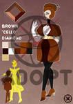 SU ADOPT - Brown Cello Diamond [CLOSED]