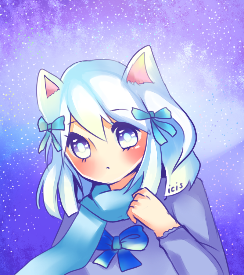 Snow Galaxy by Iciscle
