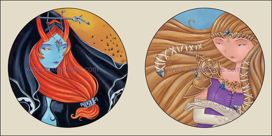 Zedal and Midna Plaques by Gimmeswords on DeviantArt