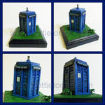 Tardis sculpture
