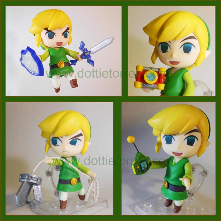 Windwaker Link Nendoroid accessories by Gimmeswords