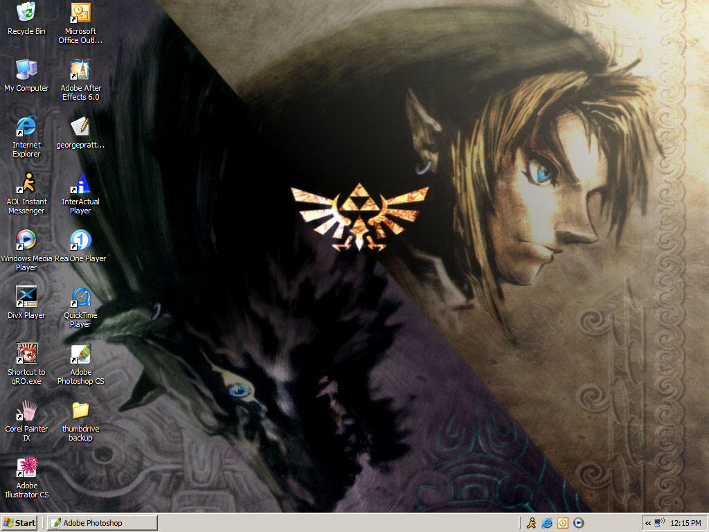 desktop by Gimmeswords