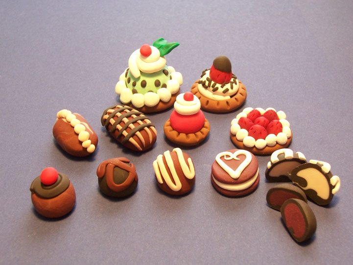 More Sculpey Desserts By Gimmeswords On Deviantart