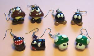 Nintendo Earrings