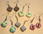 Petit Four earrings