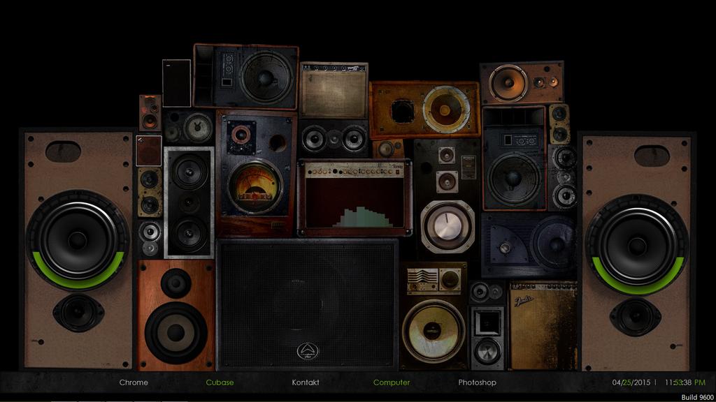 Woofer Desktop by goqhadl