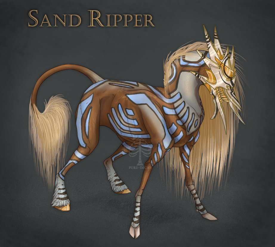 VIIRON- SandRipper by Pure-Decay