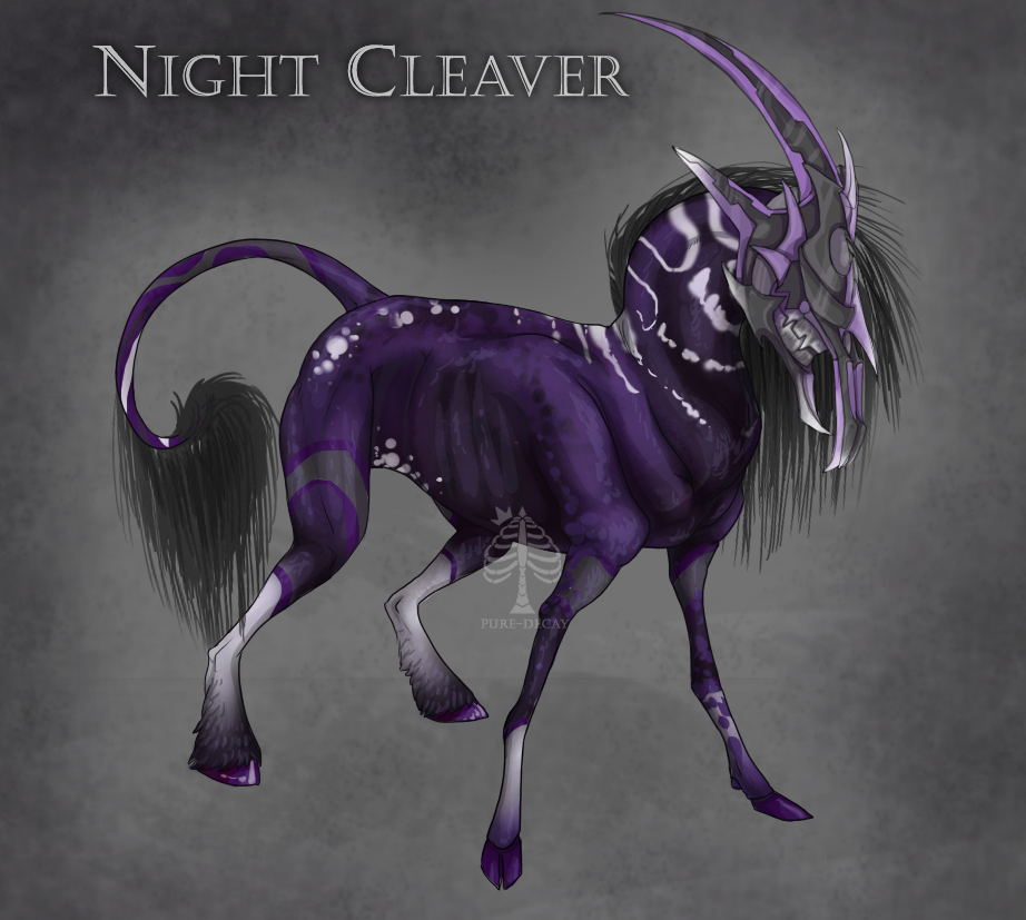 VIIRON- Nightcleaver by Pure-Decay