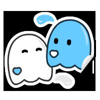 Kindred Spirits Sticker by JinxBunny