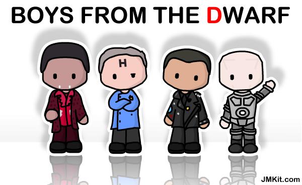 Boys From The Dwarf by JinxBunny