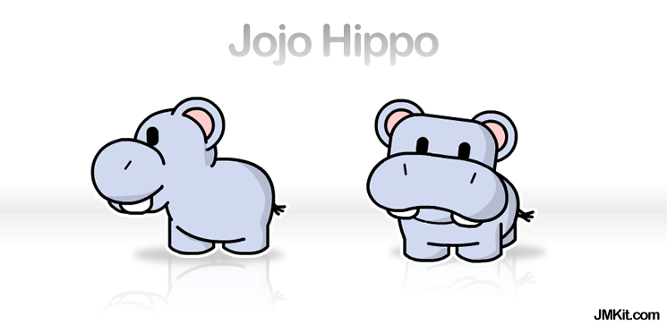 Jojo the Hippo by JinxBunny