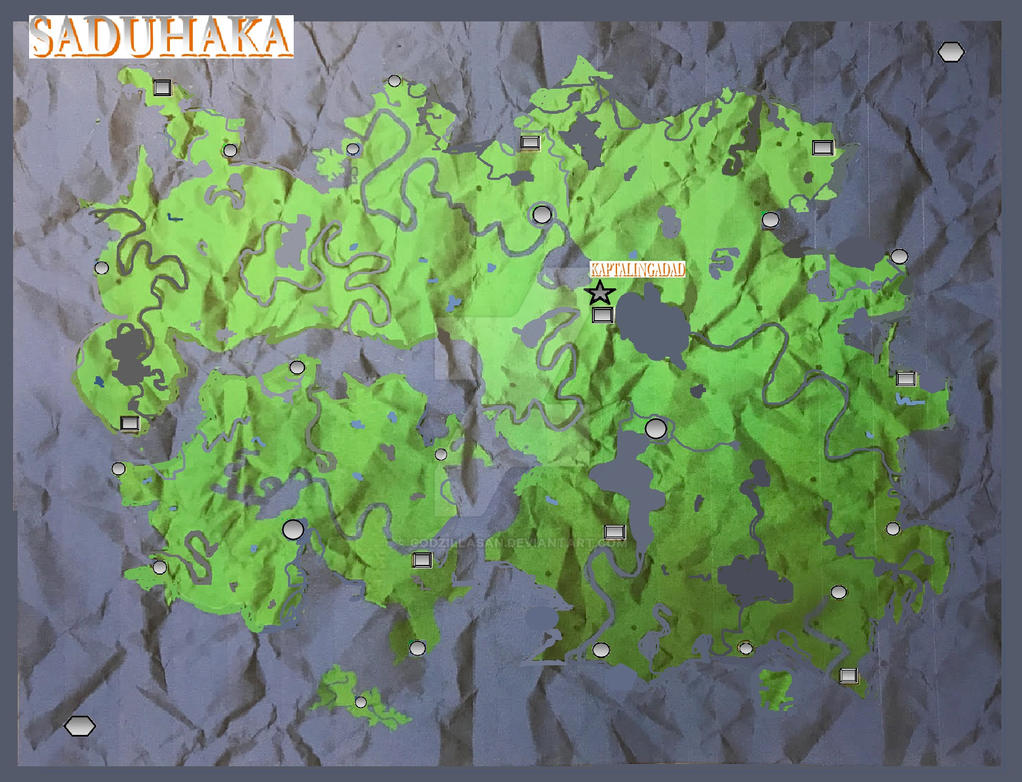 A Continent named Saduhaka by godzillaSan