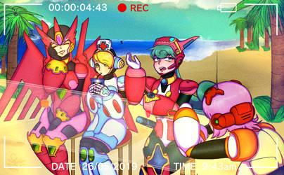 Megaman X: Beach Mission [ARMORED]