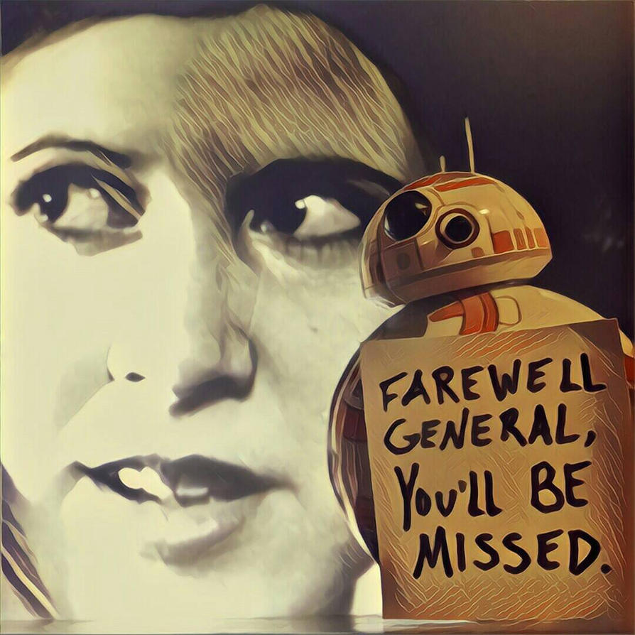 RIP Carrie... by OxisAnathema
