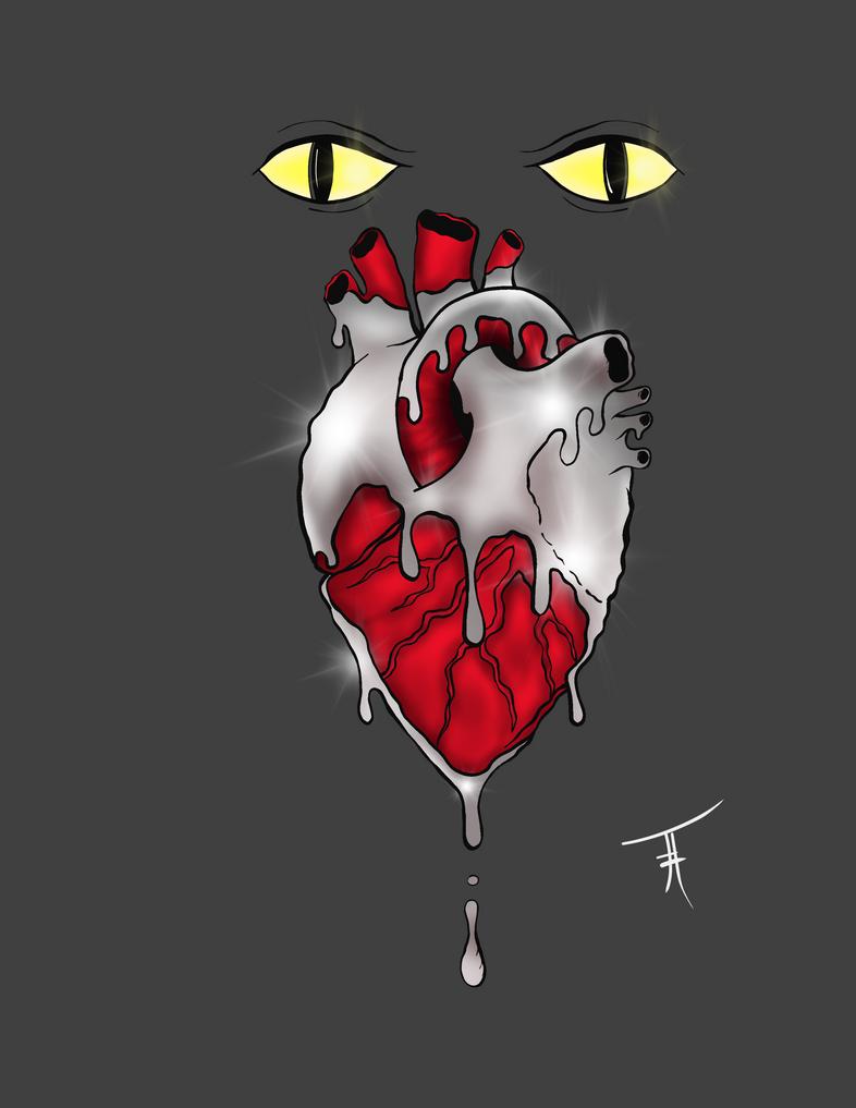 Silver Heart by OxisAnathema