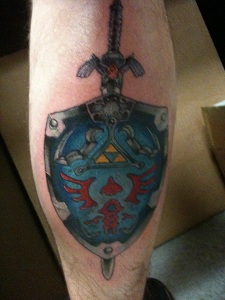 My Calf tattoo by mrwho103