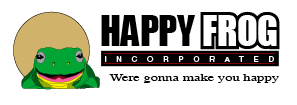 Happy Frog Logo by tjgitter