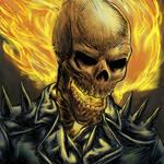 Ghost Rider Portrait!
