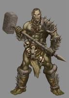 Badass Orc by mrAlejoX