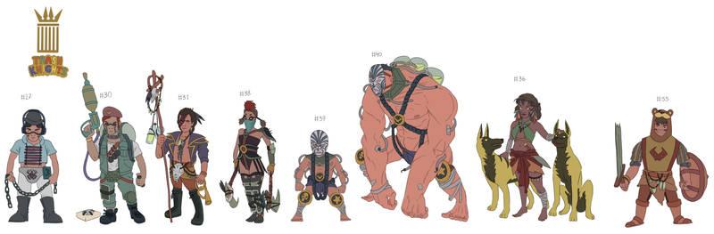 Kinderwarriors 6th pack