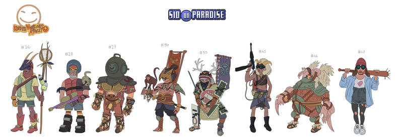 Kinderwarriors 7th pack