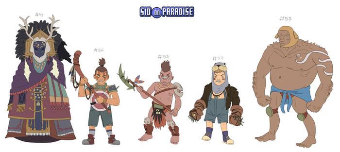 Kinderwarriors 8th pack