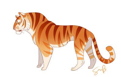 Golden Begal Tiger