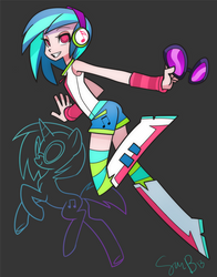 DJ Equestria Girl by sambragg