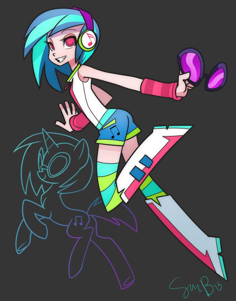 DJ Equestria Girl by sambragg