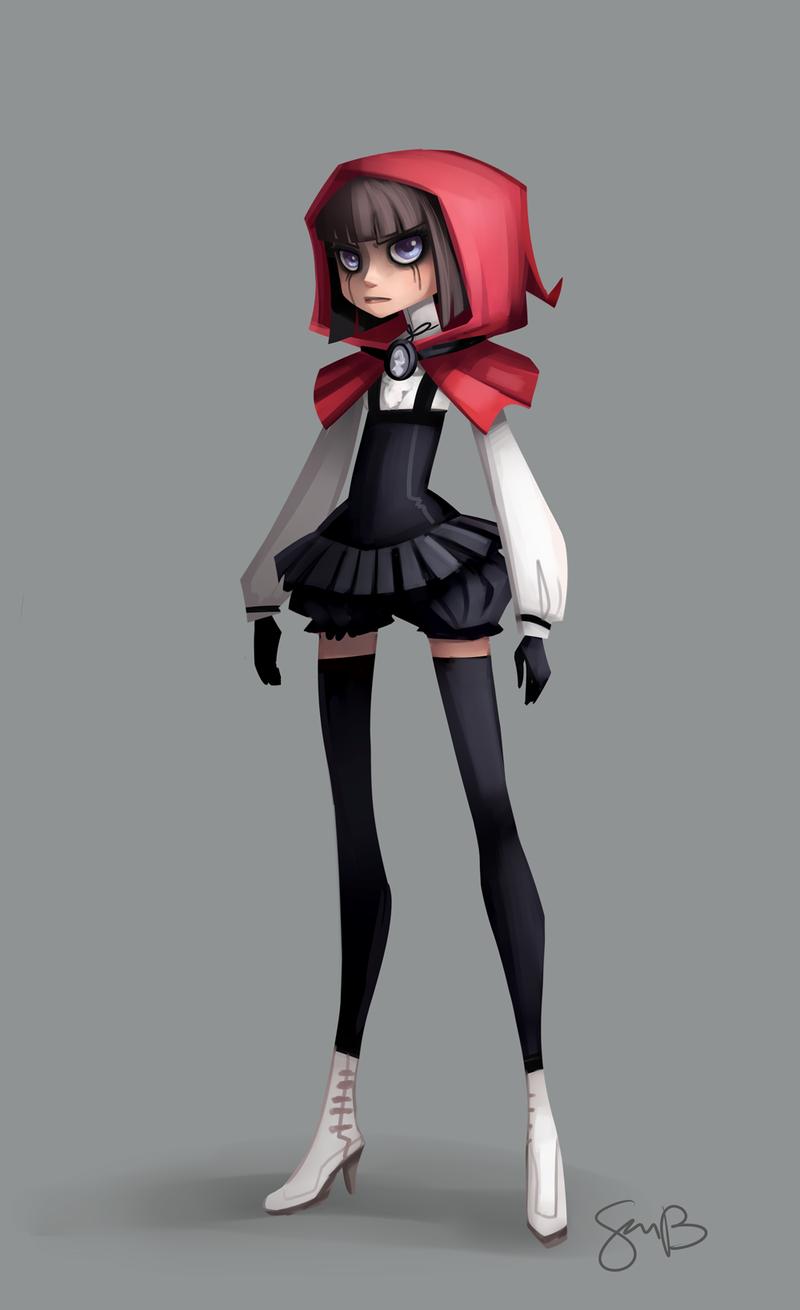 Red Riding Hood by sambragg