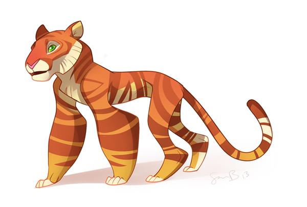 Tiger by sambragg