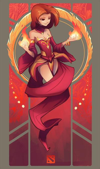 Lina by sambragg