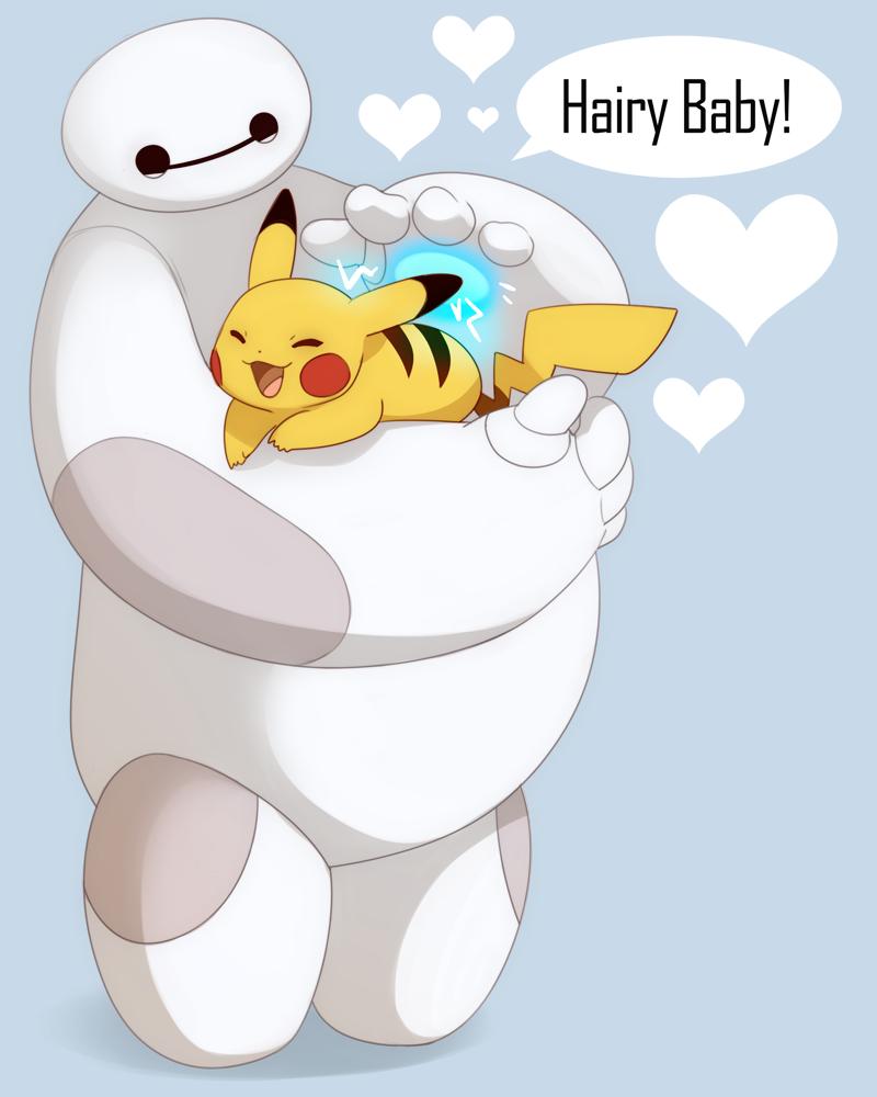 Hairy baby by sambragg