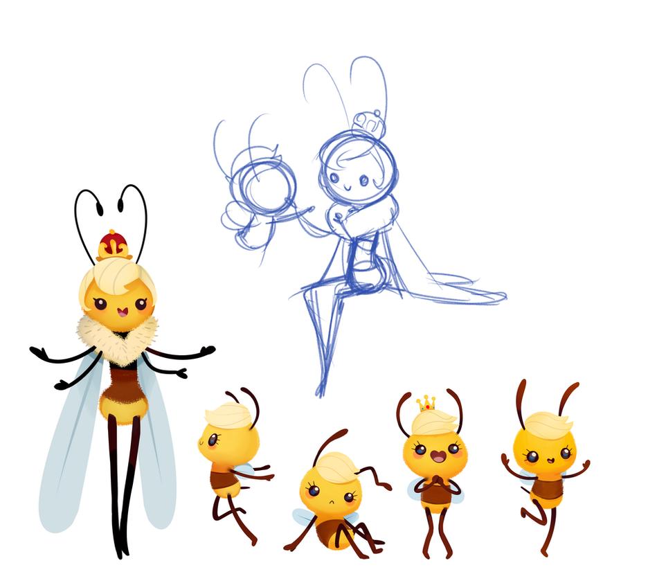 Bee by sambragg