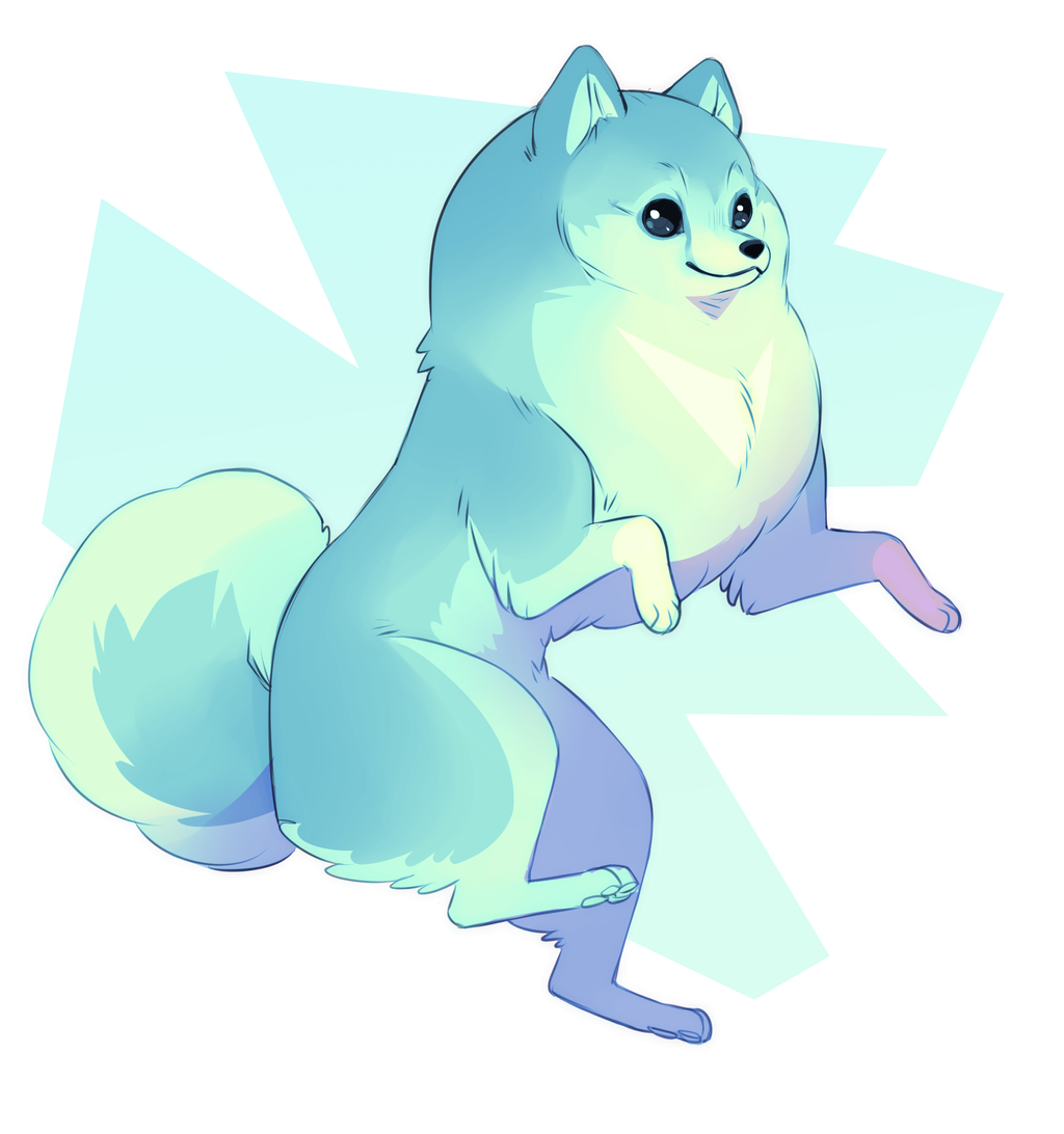 Pomeranian Adoptable by sambragg