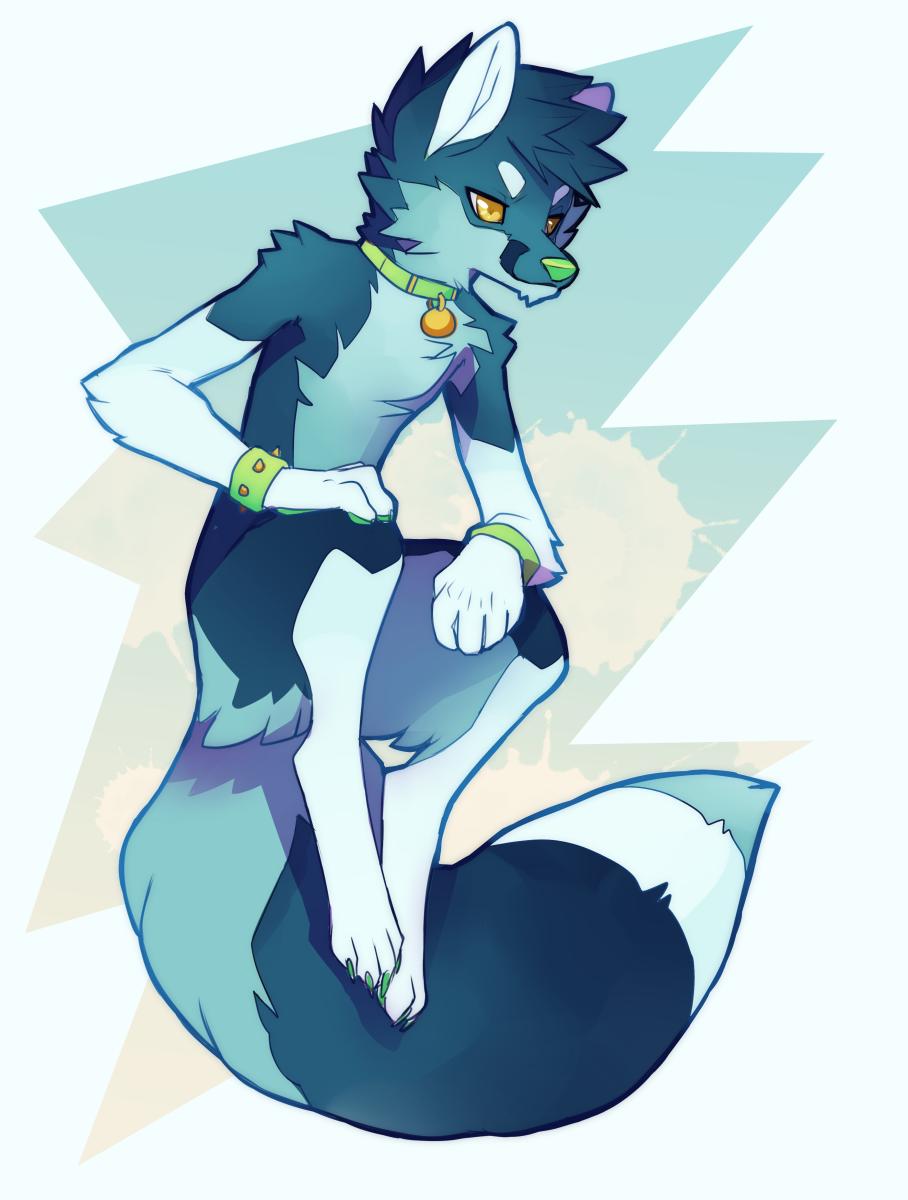 Adoptable Fox Fursona by sambragg