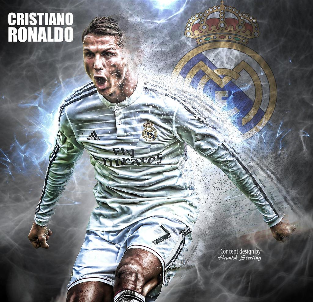 Cristiano Ronaldo Wallpaper: Cristiano Ronaldo Wallpaper By HPS74 On DeviantArt