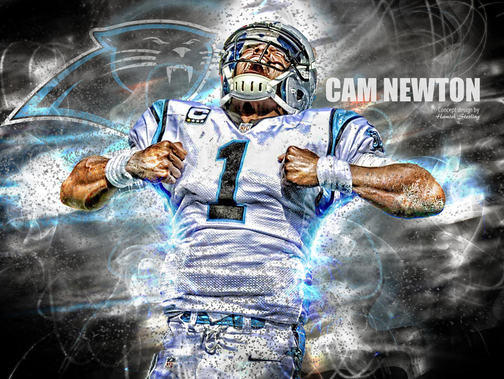Cam newton carolina panthers qb by hps74 on deviantart - Carolina panthers wallpaper cam newton ...