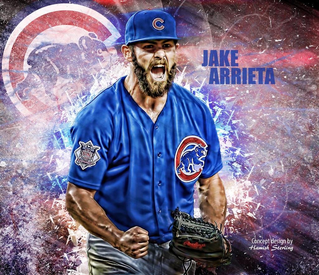 Chicago Cubs Jake Arrieta Wallpaper By Hps74 On Deviantart