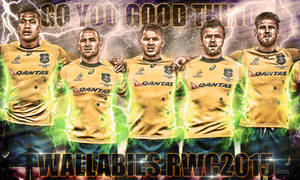 Wallabies rugby union wallpaper