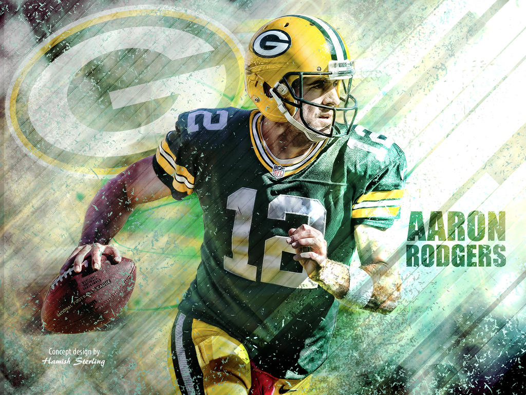 aaron rodgers wallpaper green bay packers by hps74 on