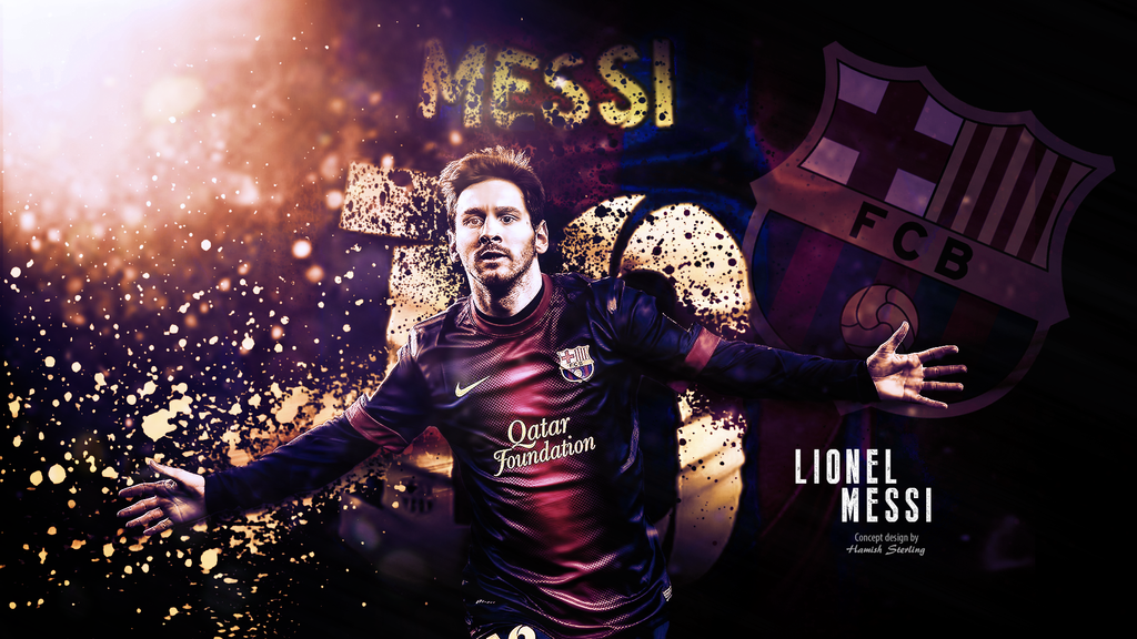Lionel Messi Wallpaper By HPS74