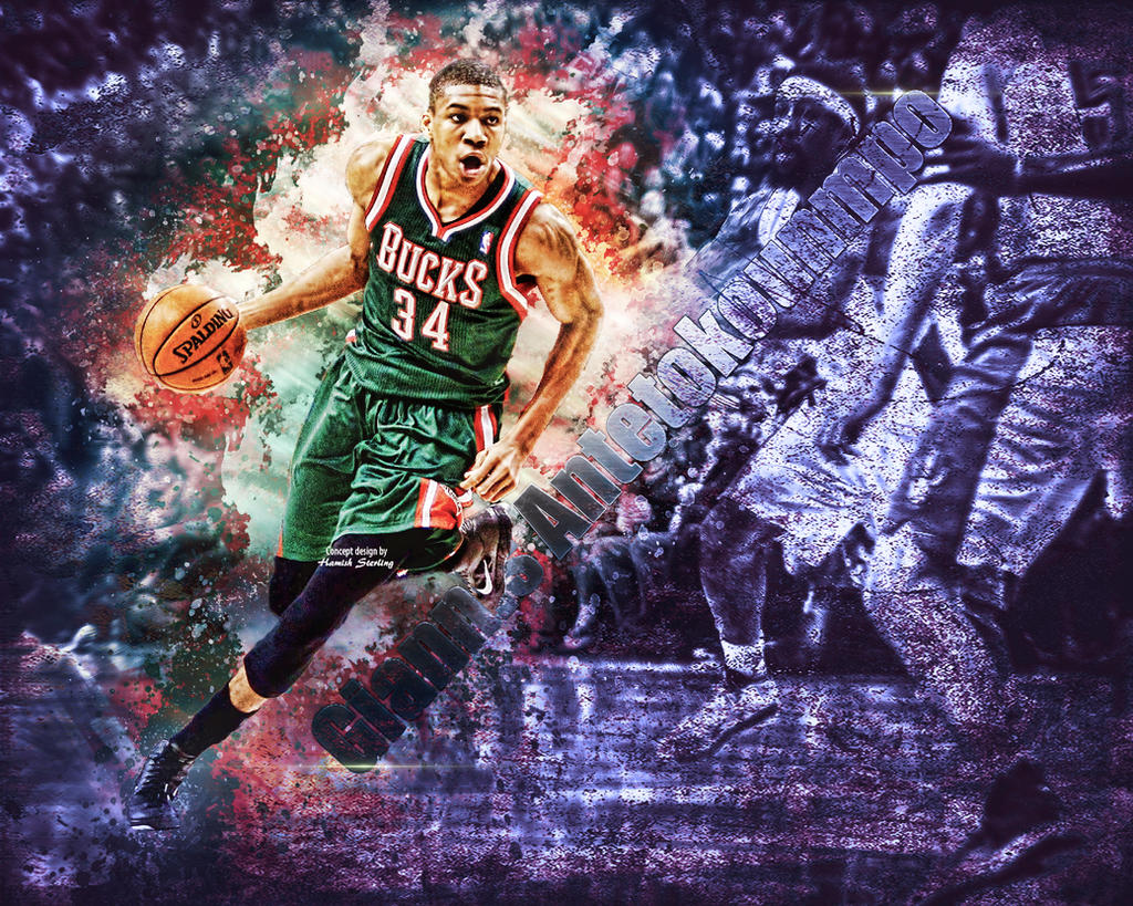 Giannis Antetokounmpo Wallpaper By Hps On Deviantart in  : giannisantetokounmpowallpaperbyhps74 d9uo3xl from vacances-mediterranee.info size 1024 x 819 jpeg 408kB