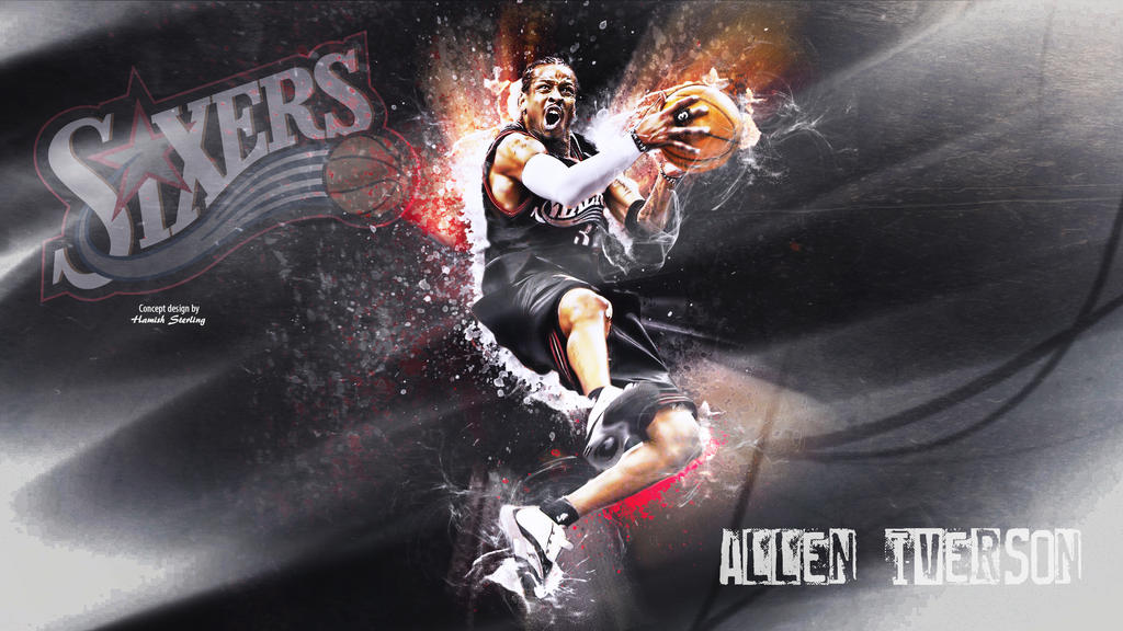 Allen Iverson Wallpaper By Hps74 On Deviantart