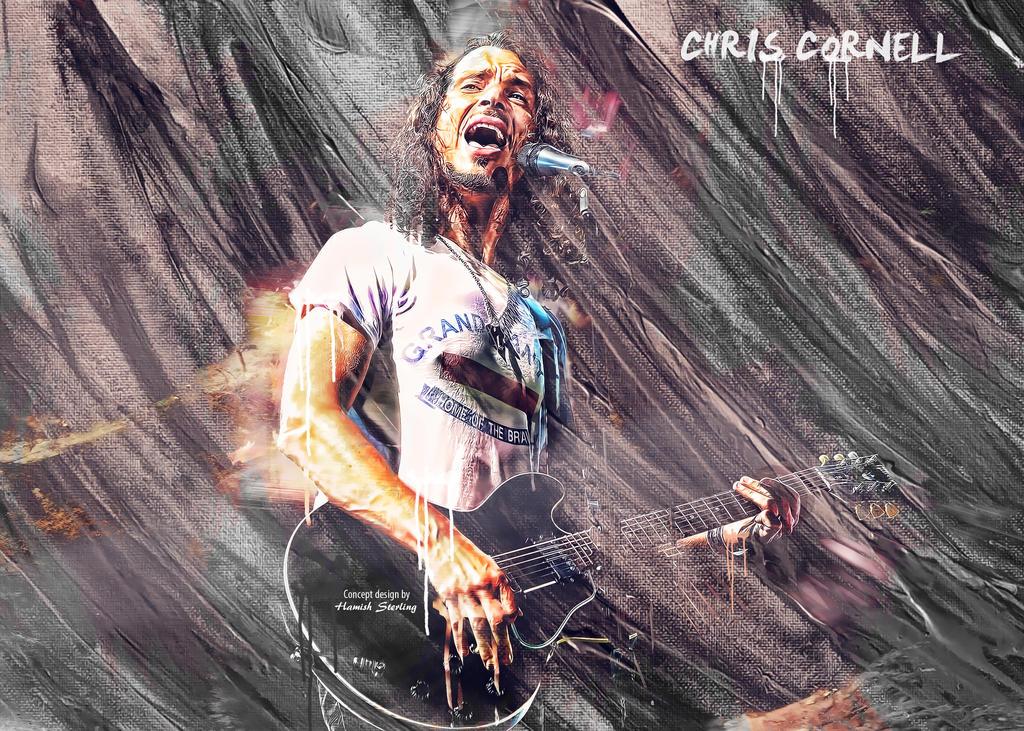 Chris Cornell wallpaper by HPS74 on DeviantArt