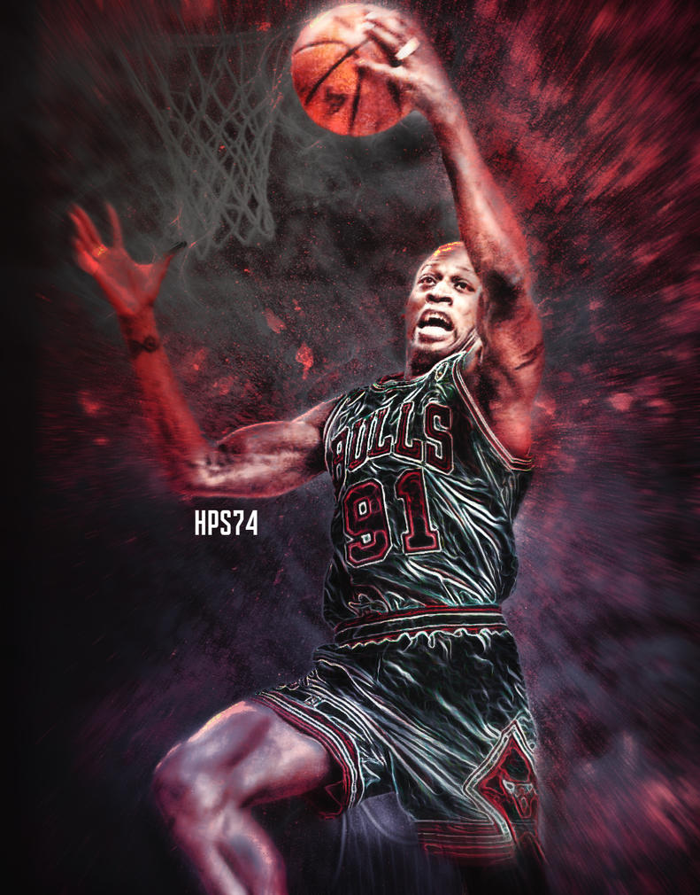 Dennis Rodman wallpaper by HPS74 on DeviantArt