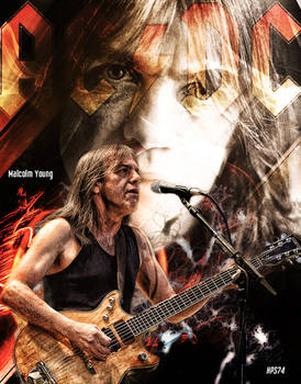 Malcolm Young wallpaper